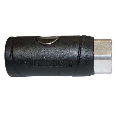 1/4 in. Female Safety Coupler