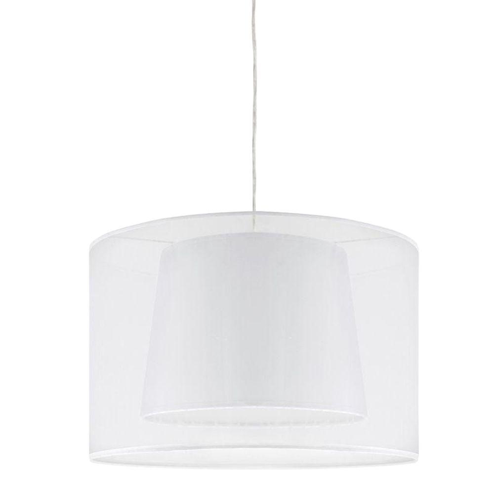 Lumisource White Pendant Ceiling Lamp-DISCONTINUED