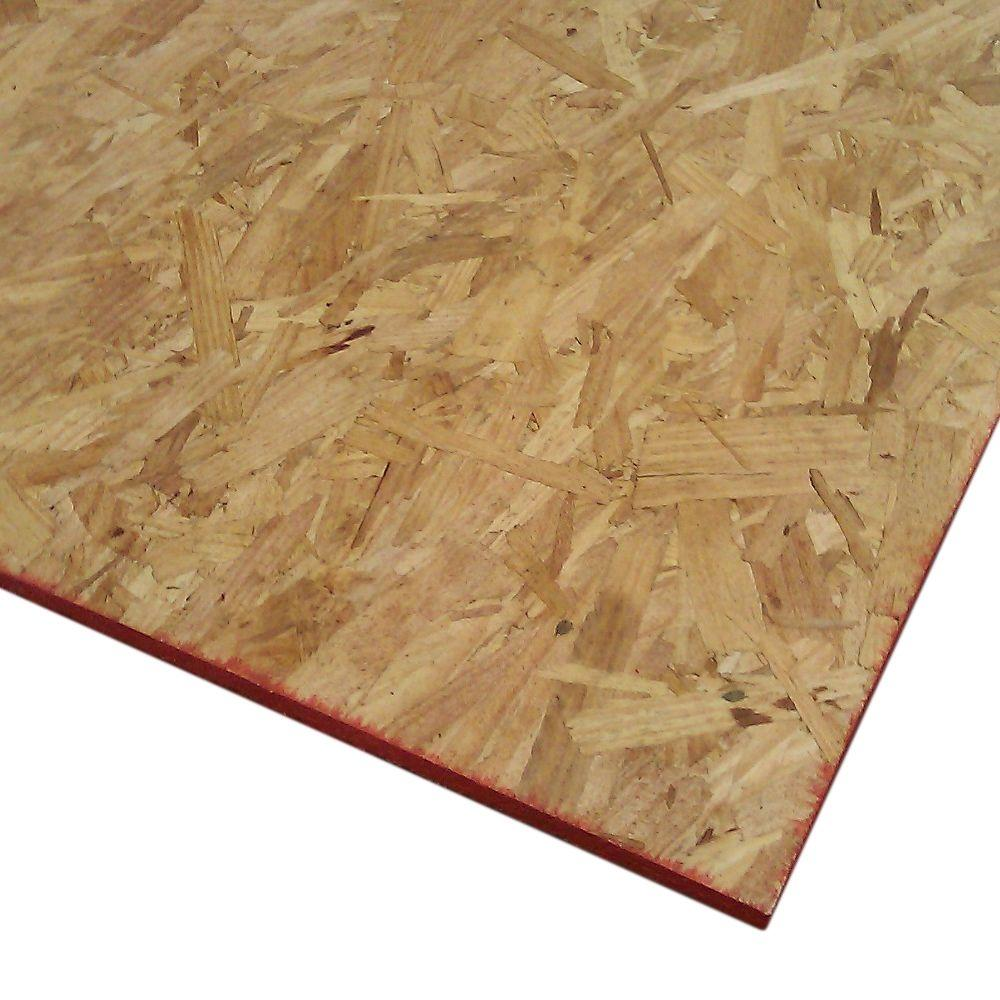 Dimensions Oriented Strand Board (Common: 7/16 in. x 2 ft. x 4 ft.; Actual: 0.435 in. x 23.75 in. x 47.75 in.)