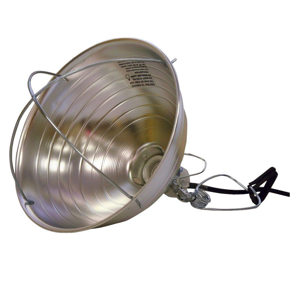 300-Watt 10-1/2 in. Brooder Clamp Work Light
