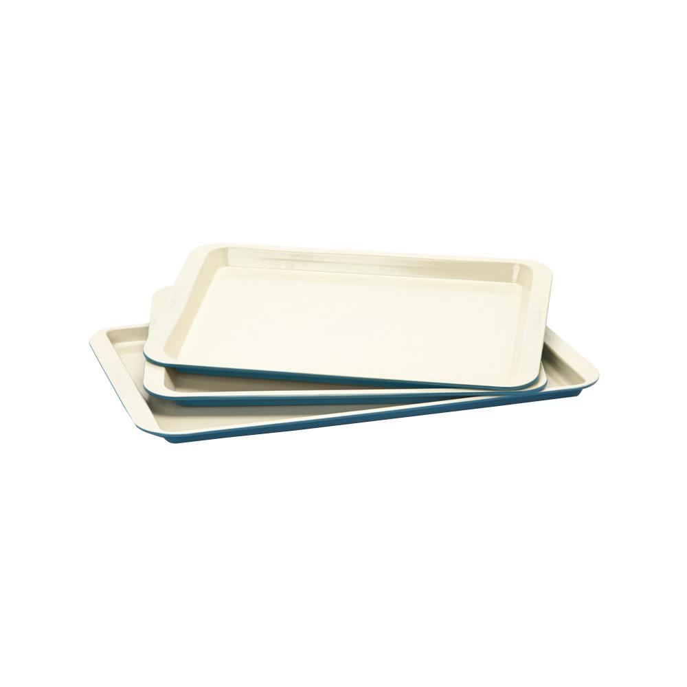 Cookie Sheet 3-Piece Set in Blue