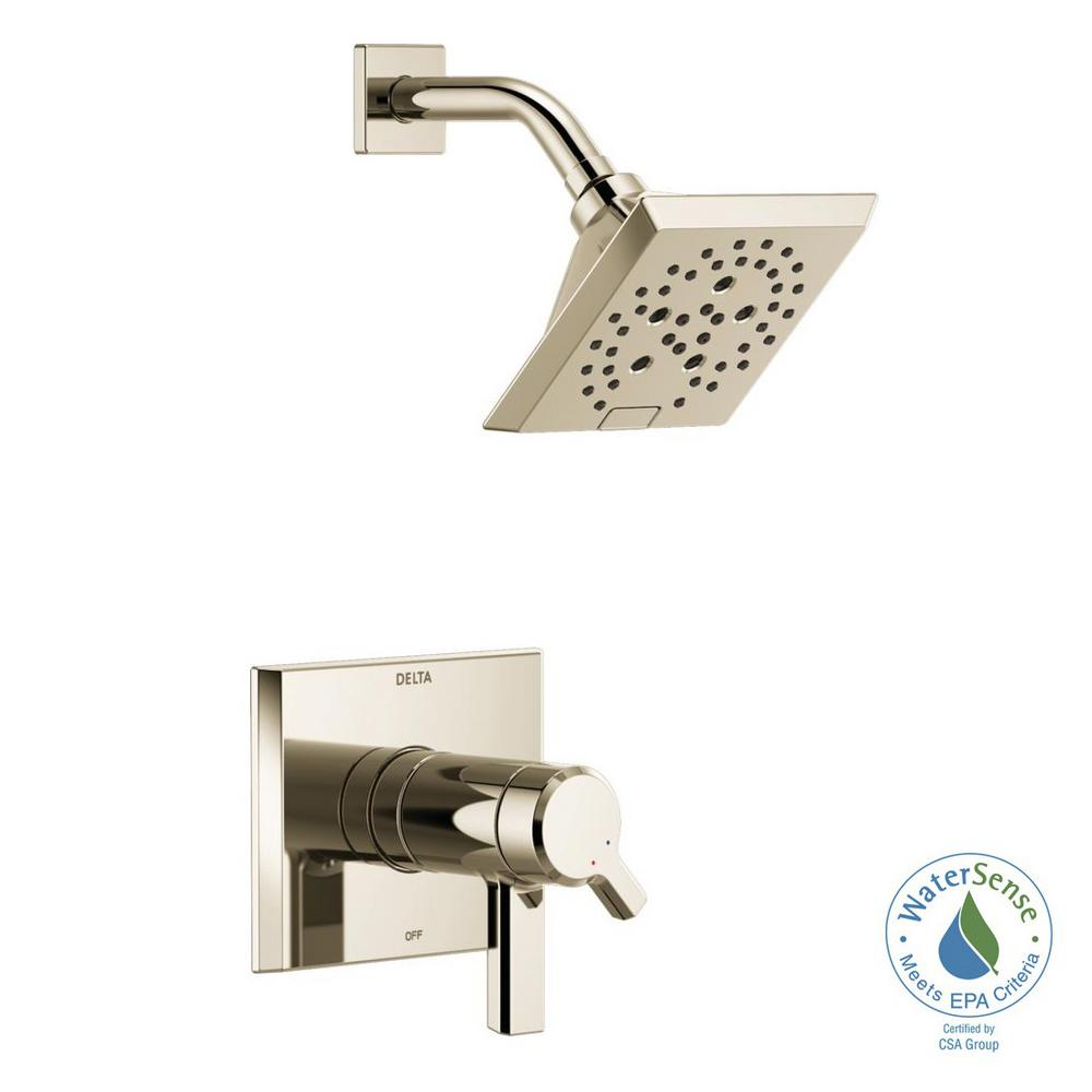 Delta Tesla Single Handle Wall Mount Bathroom Faucet Trim