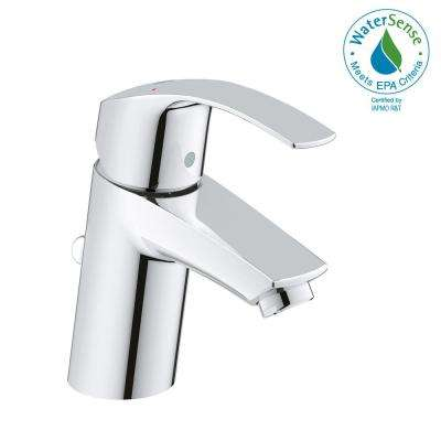Eurosmart New Single Hole Single-Handle 1.2 GPM Bathroom Faucet in StarLight Chrome