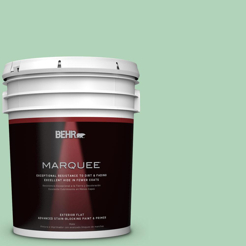 BEHR MARQUEE 5-gal. #M410-3 Enchanted Meadow Flat Exterior Paint