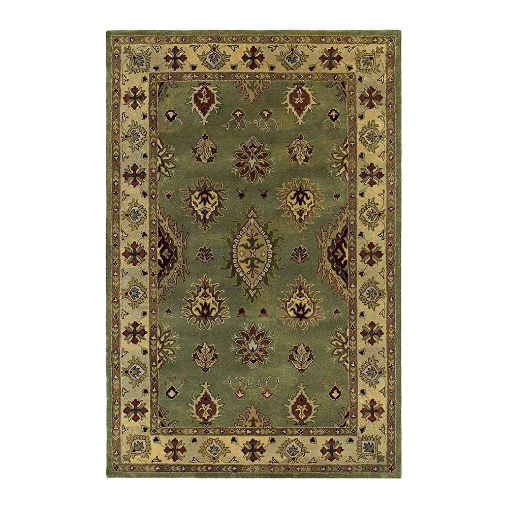 Kaleen Presidential Picks Cooks Landing Celery 2 ft. 3 in. x 8 ft. Area rug-DISCONTINUED