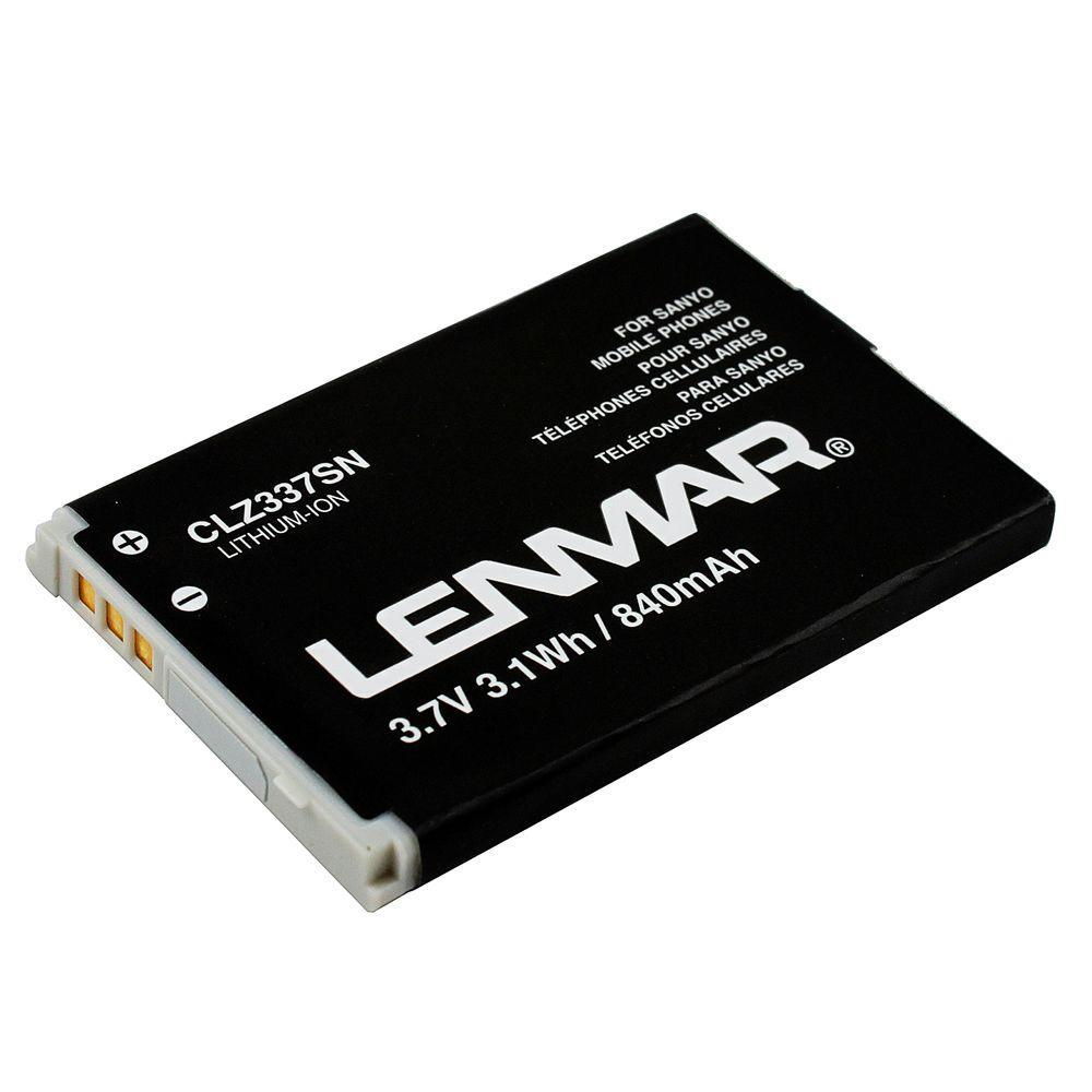 Lenmar Lithium Ion 840mAh/3.7-Volt Mobile Phone Replacement Battery