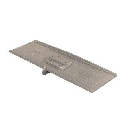 24 in. x 8 in. Square End Aluminum Flying Groover 1/2 in. x 1 in. Single Bit