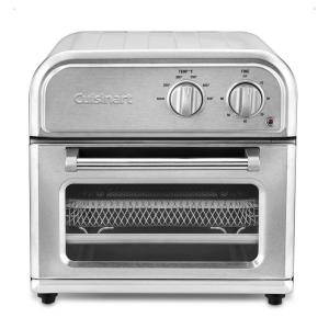 Compact Stainless Steel Air Fryer with Fry Basket