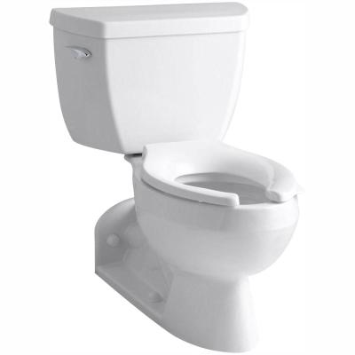 Barrington 4 in. Rough-In 2-piece 1.6 GPF Single Flush Elongated Toilet in White