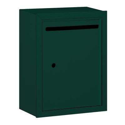 2240 Series Green Standard Surface-Mounted USPS Letter Box