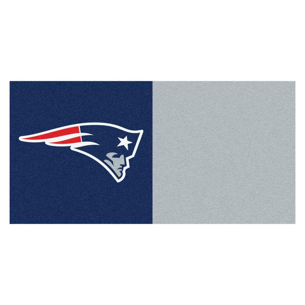 Fanmats Nfl New England Patriots Navy Blue And Grey