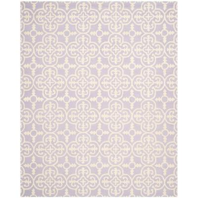 Cambridge Lavender/Ivory 6 ft. x 9 ft. Area Rug