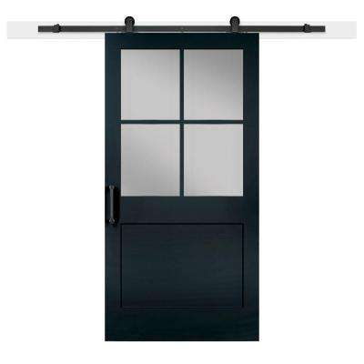 48 X 48 Black Barn Doors Interior Closet Doors The Home Depot Beauteous Barn Doors For Homes Interior