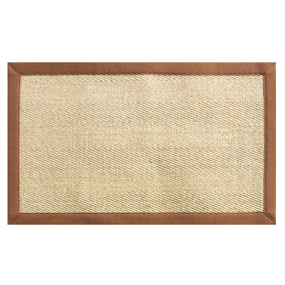 Home Decorators Collection Marblehead Brown 9 ft. x 12 ft. Area Rug