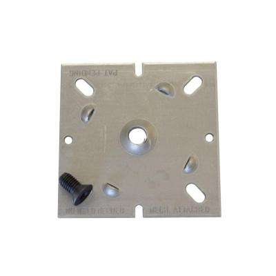 4 in. x 4 in. Lolly Lock Cap and Base