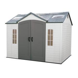Lifetime 10 ft. x 8 ft. Outdoor Garden Shed by Lifetime