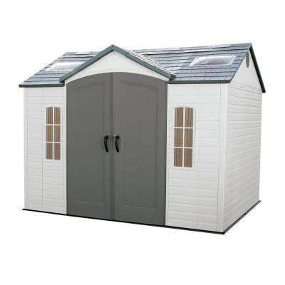 10 ft x 8 ft outdoor garden shed