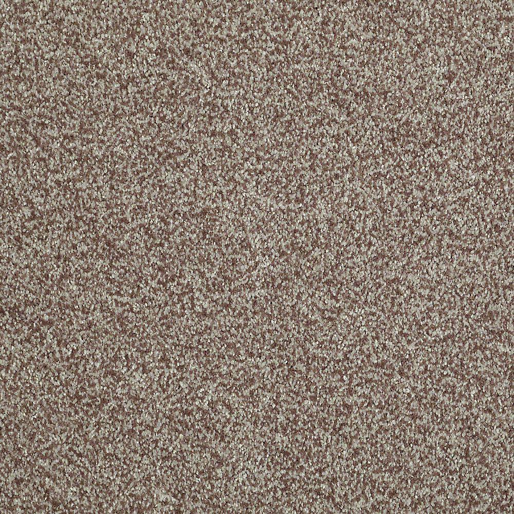 Opulence - Color Mocha Frost Texture 12 ft. Carpet