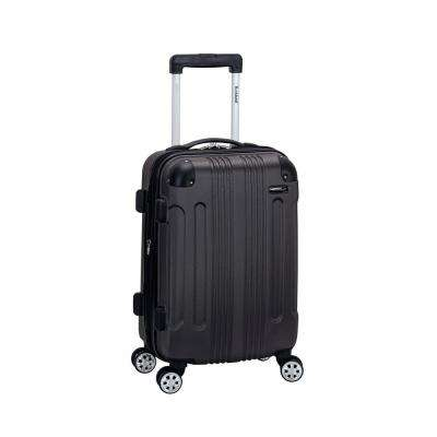 F1901 Expandable Sonic 20 in. Hardside Spinner Carry On Luggage, Grey
