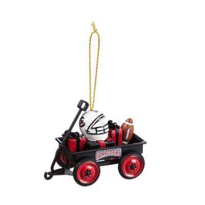 University of South Carolina 1-3/4 in. NCAA Team Wagon Christmas Ornament