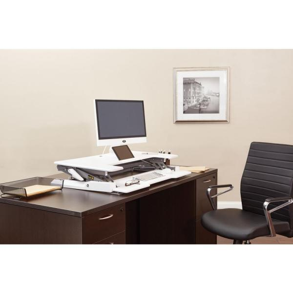 Office Star Products Multi Position Desk Riser Dr3622 Wh The Home