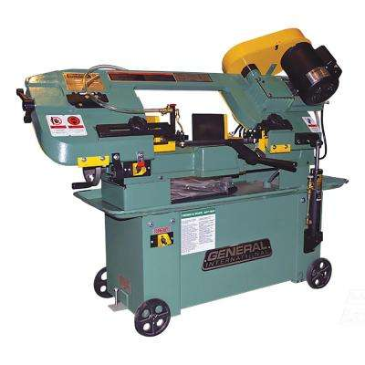 40 in. Industrial Metal Cutting Band Saw with Mobile Base and Coolant Pump