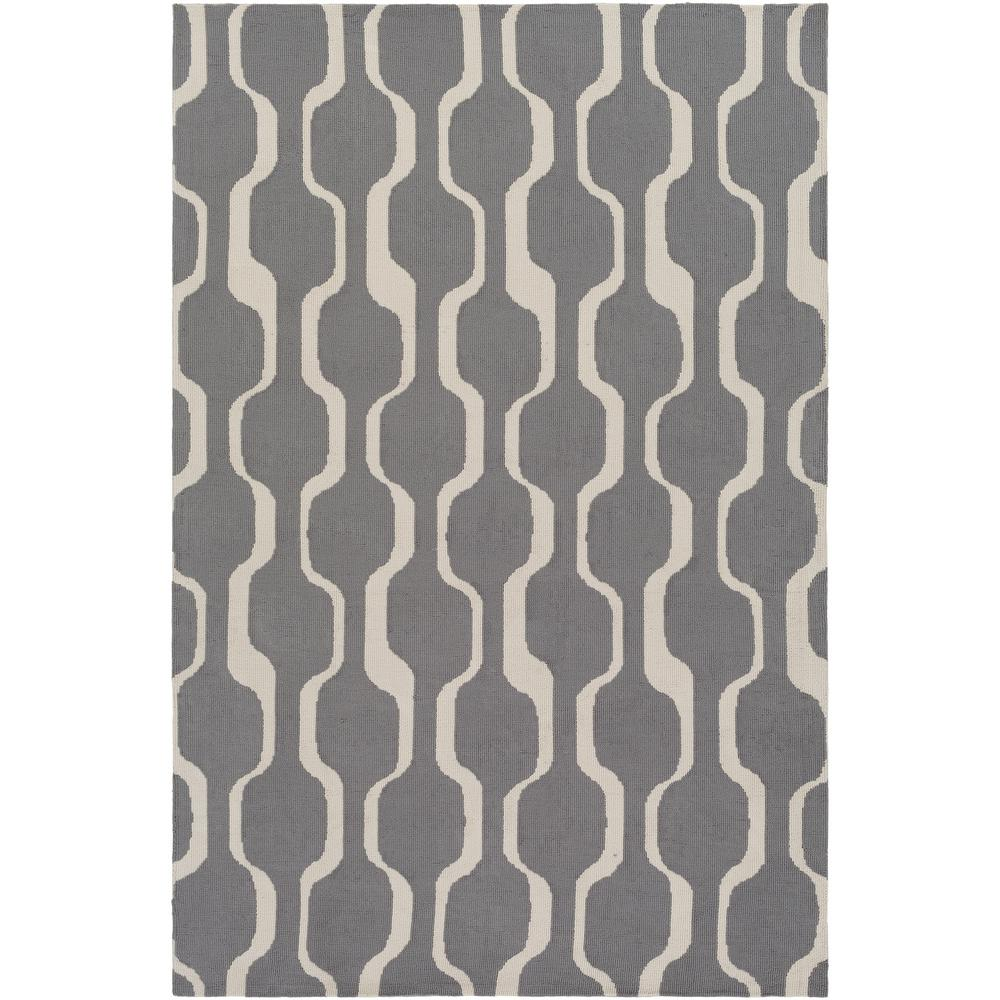 Joan Tilden Gray 8 ft. x 10 ft. Indoor Area Rug
