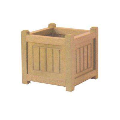 Nantucket 12 in. x 12 in. Cedar Recycled Plastic Commercial Grade Planter Box