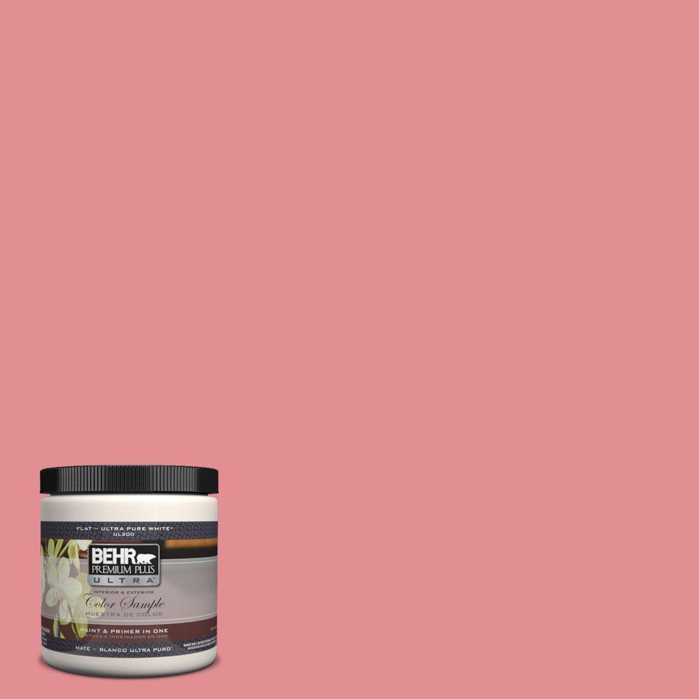 8 oz. #140D-4 Fresh Pink Interior/Exterior Paint Sample
