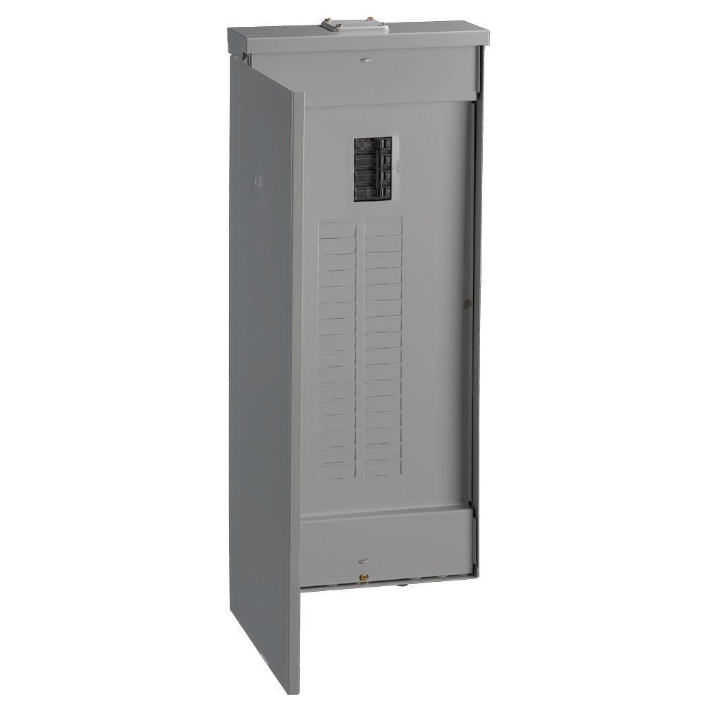 Ge powermark gold 150 amp 32 space 32 circuit outdoor main for Best circuit breaker panel