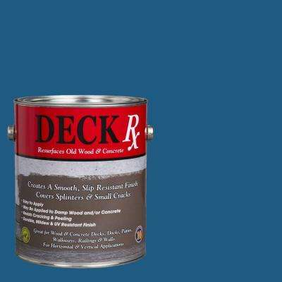 Deck Rx 1 gal. Blue Wood and Concrete Exterior Resurfacer