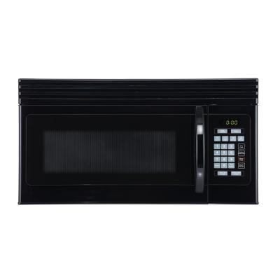 1.6 cu. Ft. Over-the-Range Microwave with Top Mount Air Recirculation Vent in Black