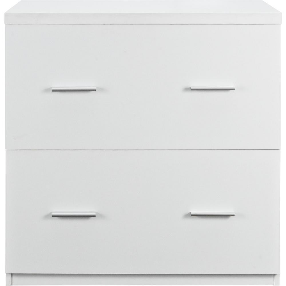 Bon Ameriwood Home Marston White Lateral File Cabinet