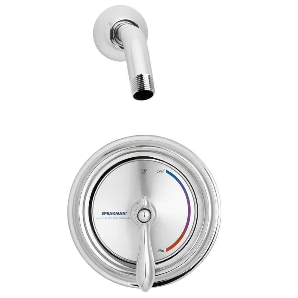 Sentinel Mark II Single-Handle 1-Spray Round Shower Faucet in Polished Chrome