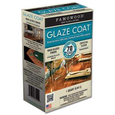 1 qt. Glaze Coat Clear Epoxy Kit (4-Pack)