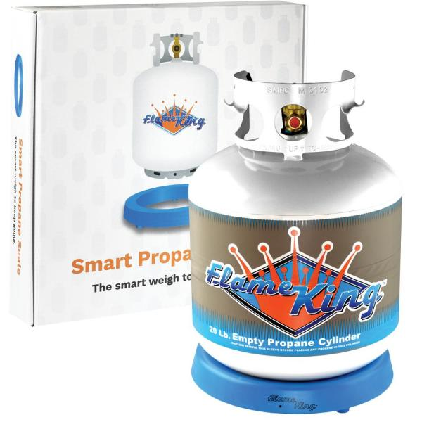 20 lbs. Empty Propane Cylinder with Smart Propane Scale
