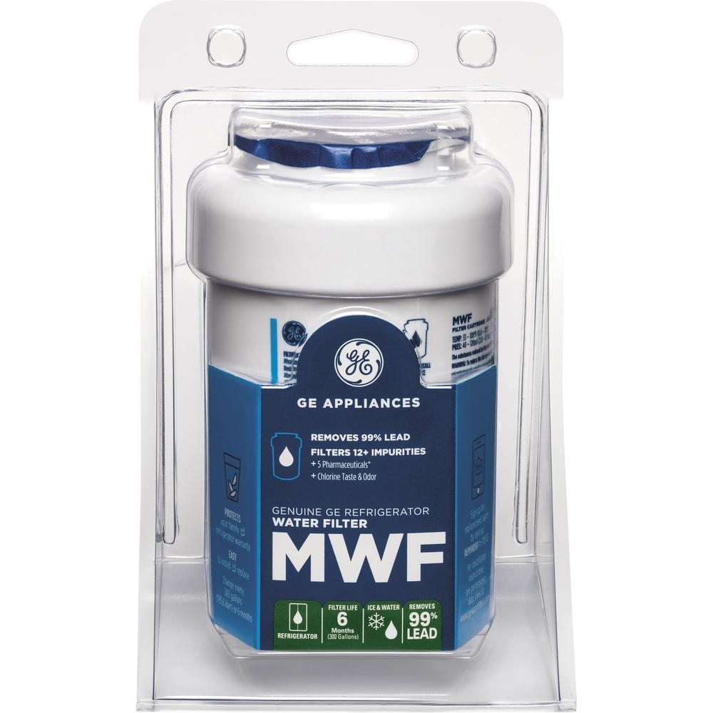 Ge Refrigerator Water Filter Mwf The Home Depot