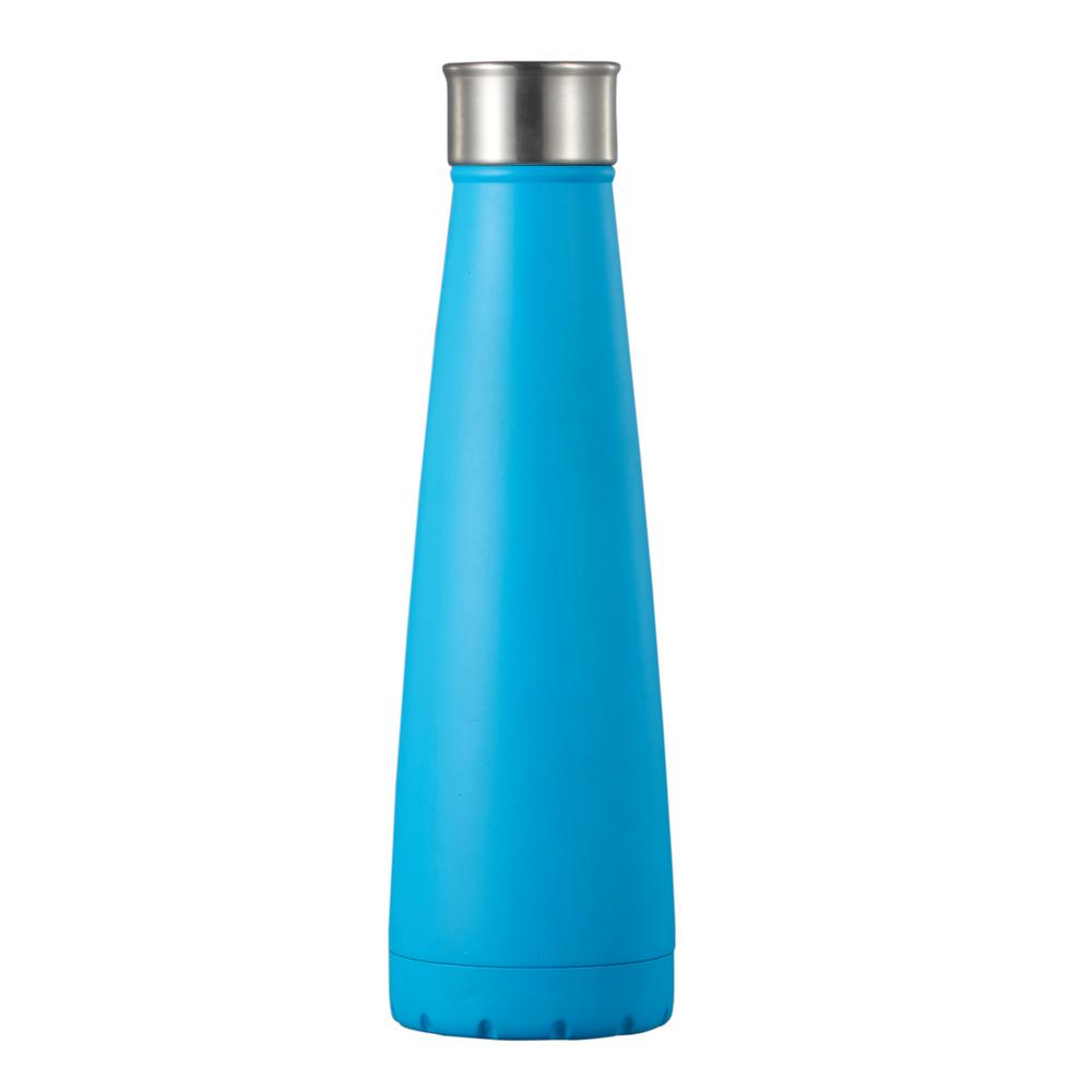 48ef1b5cf1a Visol Canopy 15 oz. Blue Water Bottle-VAC416BL - The Home Depot