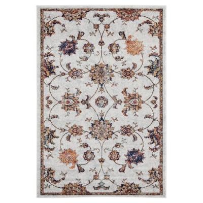 Bali Mayotta Cream 5 ft. 3 in. x 7 ft. 2 in. Area Rug