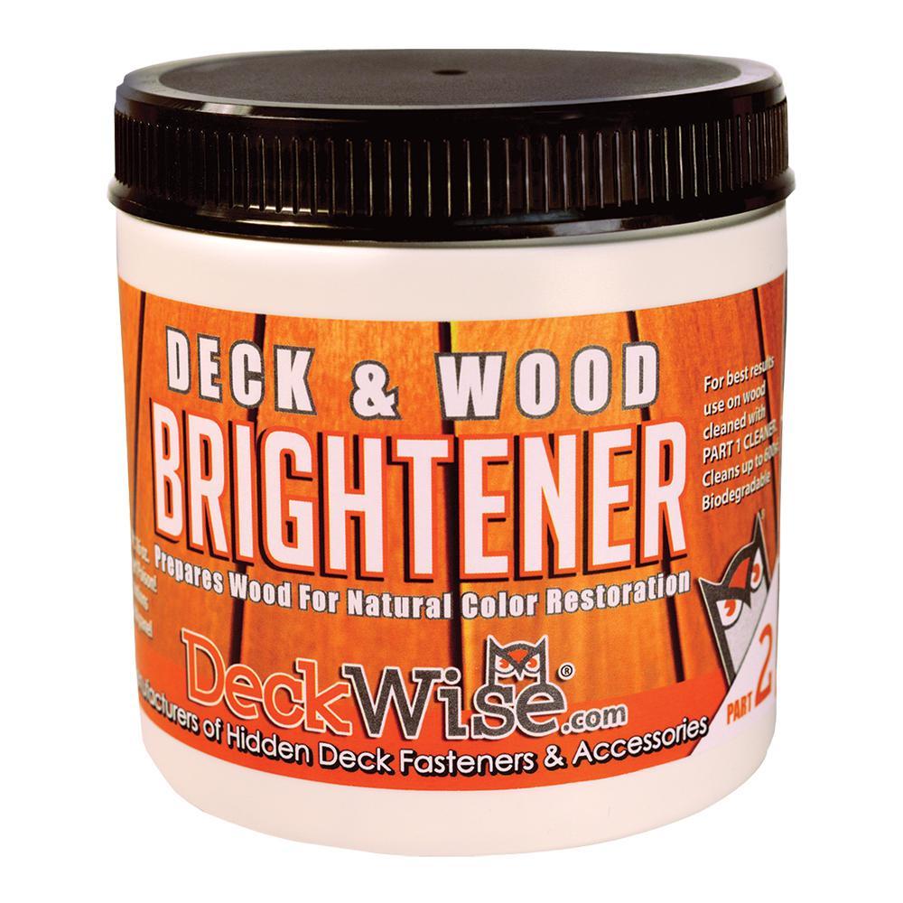 16 oz. Deck and Wood Brightener Part 2