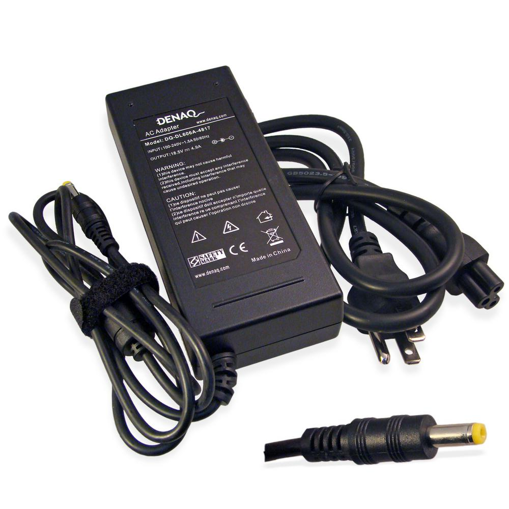 DENAQ 18.5-Volt 4.9 Amp 4.8 mm-1.7 mm AC Adapter for HP/C...