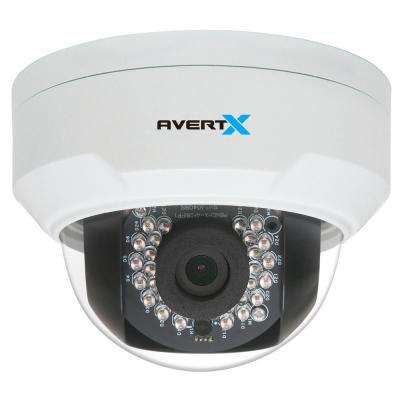 Indoor/Outdoor Mini Dome 4MP Security Camera w/ Night Vision