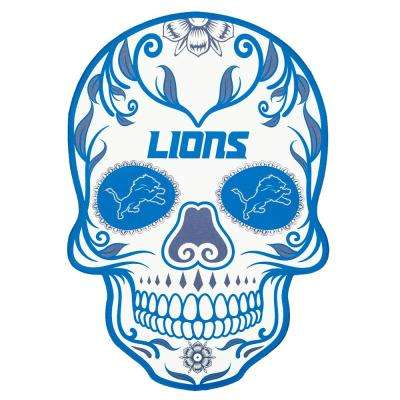 NFL Detroit Lions Outdoor Skull Graphic- Small