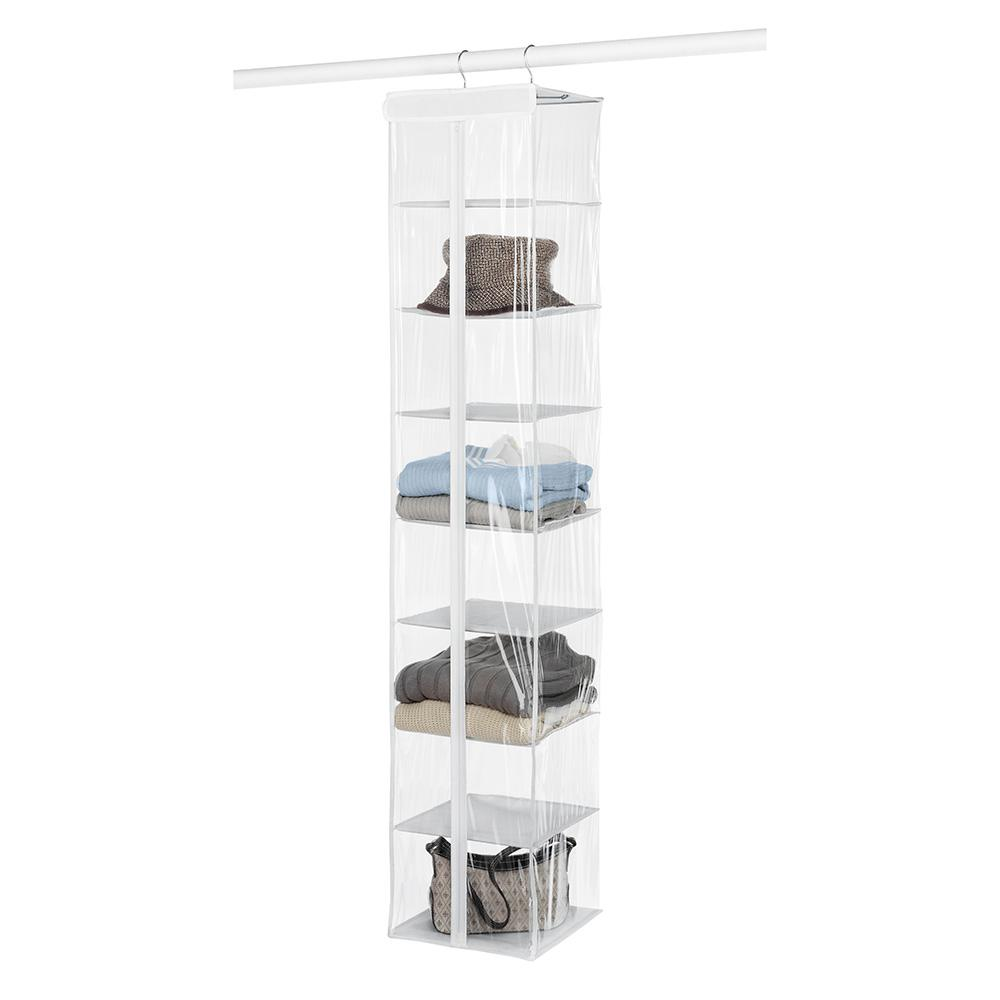 Whitmor 8 Compartment Sweater Hanging Organizer 6044 275 The Home Depot