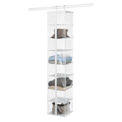 8-Compartment Sweater Hanging Organizer