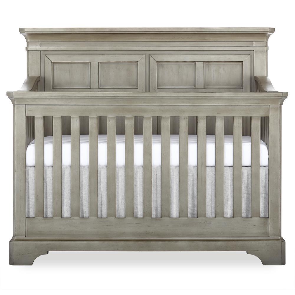 Provence 5-in-1 Ash Grey Convertible Crib
