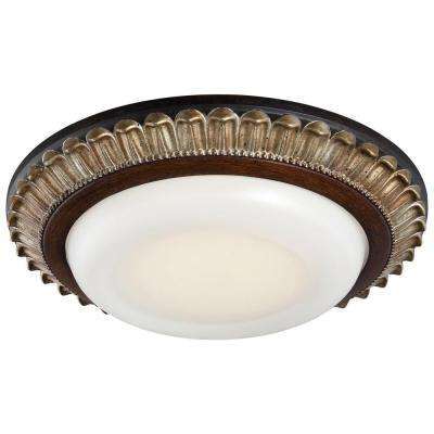 6 in. Recessed Can Belcaro Walnut LED Trim