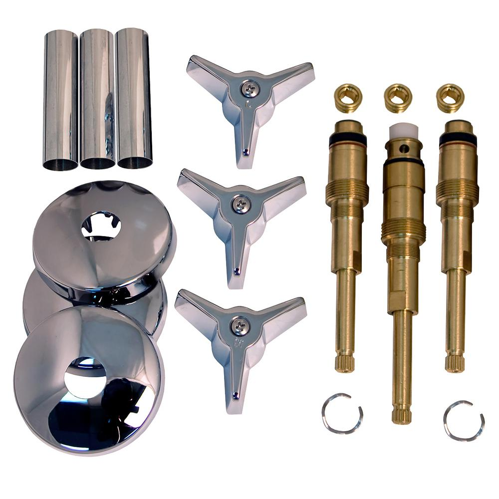 Lincoln Products Tub And Shower Rebuild Kit For American