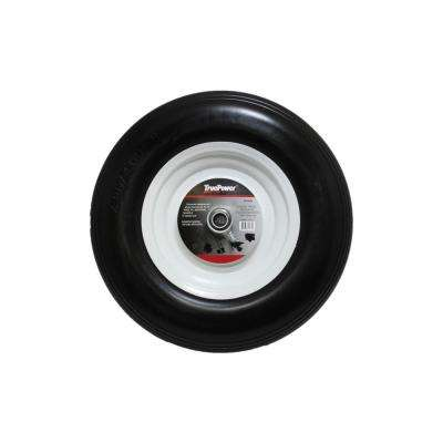 16 in. Wheelbarrow Tire with Steel Rim