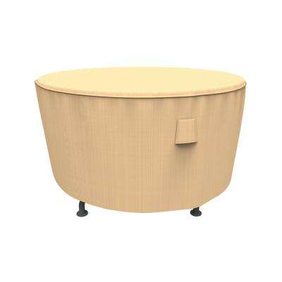 Rust-Oleum NeverWet Savanna Medium Tan Round Patio Table Cover